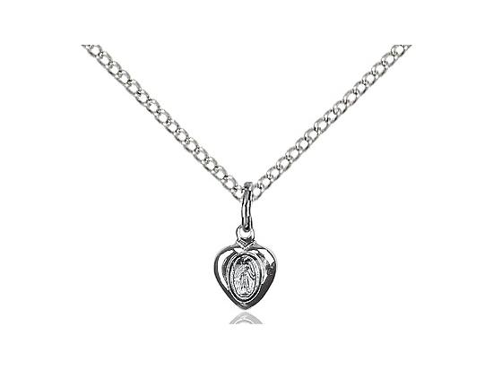 Miraculous Heart<br>0217PL - 1/4 x 1/8