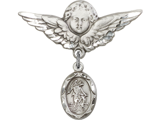 Guardian Angel<br>Baby Badge - 0301E/0733