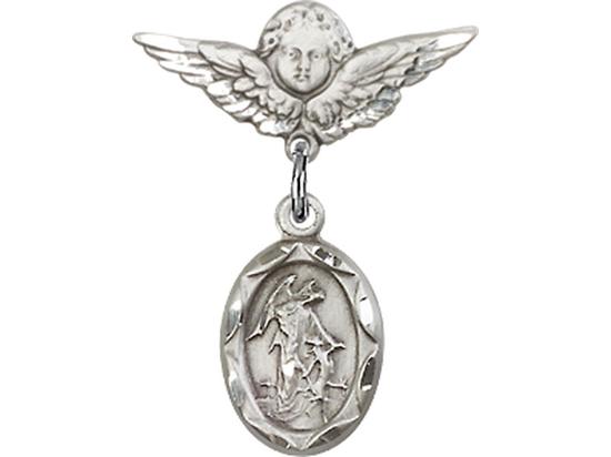 Guardian Angel<br>Baby Badge - 0301E/0735