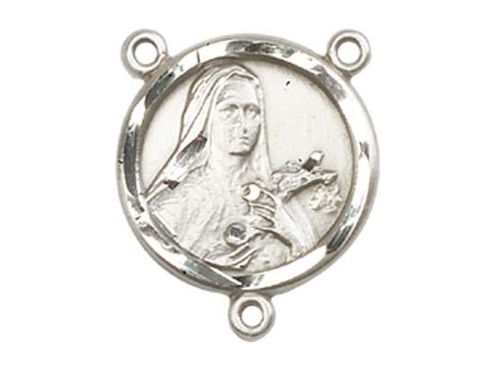 Saint Theresa<br>0601TCTR - 5/8 x 1/2<br>Rosary Center