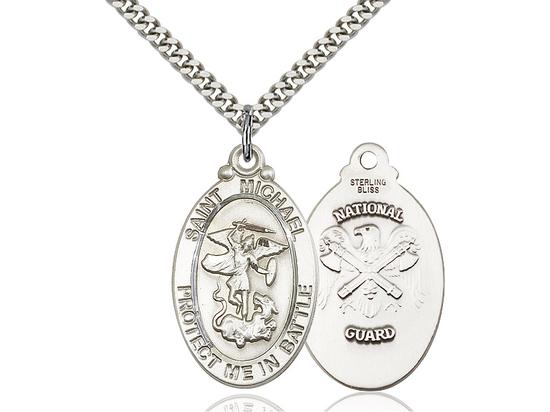 St Michael National Guard<br>1171--5 - 1 1/8 X 1 1/4