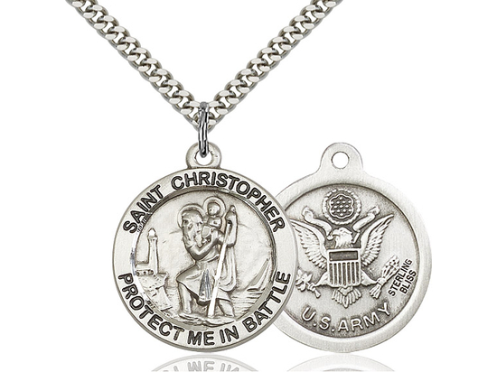St Christopher Army<br>1174--2 - 1 X 1 5/8