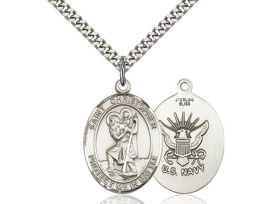 St Christopher Navy<br>1177--6 - 1 X 1 1/4