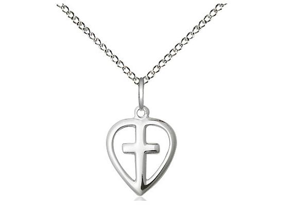 Heart Cross<br>1709 - 1/2 x 3/8