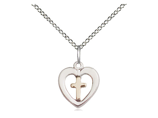 Heart Cross<br>3147 - 1/2 x 3/8