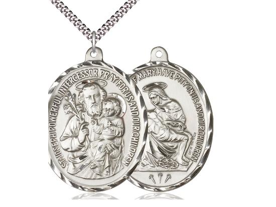 Saint Joseph<br>Christian Mother<br>32-106/149 - 1 1/2 x 1 7/8