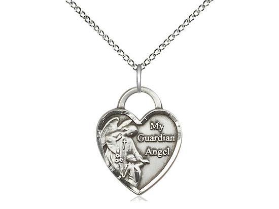Guardian Angel Heart<br>3202 - 3/4 x 5/8