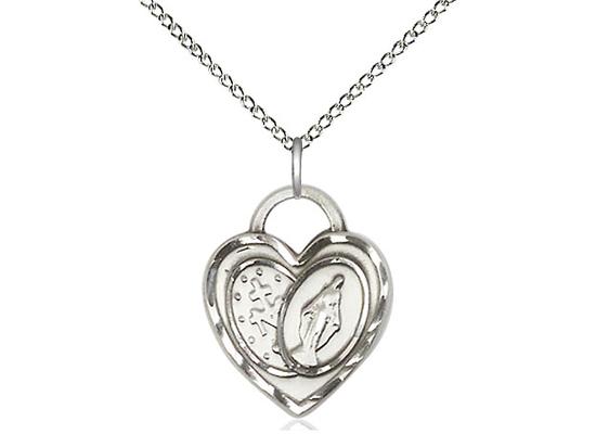 Miraculous Heart<br>3212 - 3/4 X 5/8