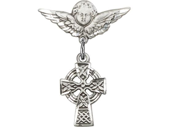 Celtic Cross<br>Baby Badge - 4133/0735