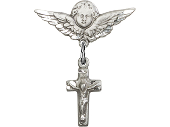 Crucifix<br>Baby Badge - 4134/0735