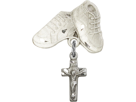 Crucifix<br>Baby Badge - 4134/5923