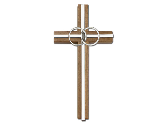 Marriage<br>5002 - 6 x 3<br>Wall Cross