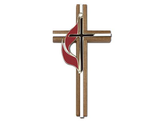 Methodist<br>5060 - 6 x 3<br>Wall Cross