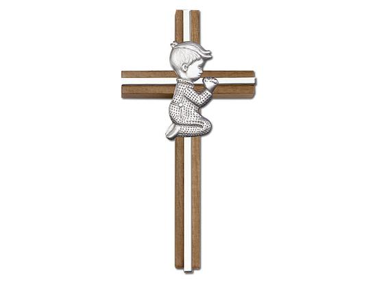 Praying Boy<br>5065 - 6 x 3<br>Wall Cross