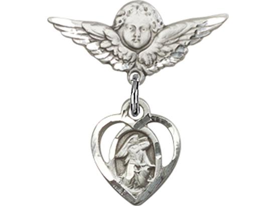 Guardian Angel<br>Baby Badge - 5407/0735
