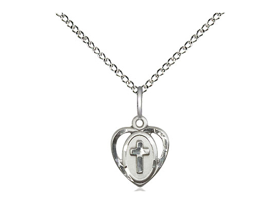 Heart Cross<br>5411 - 3/8 x 3/8