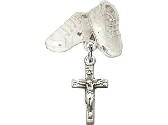 Crucifix<br>Baby Badge - 5417/5923