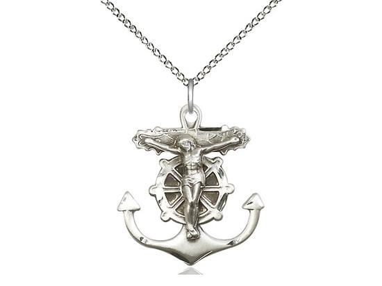 Anchor Crucifix<br>5685 - 1 x 7/8