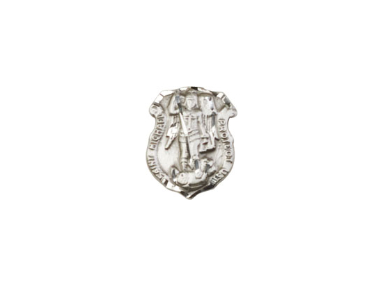 St. Michael the Archangel<br>5699L - 5/8 x 3/8<br>Lapel Pin
