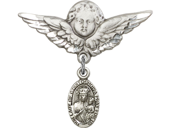 Our Lady of Czestochowa<br>Baby Badge - 6091/0733