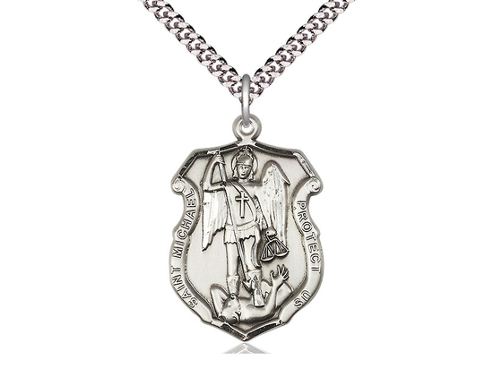 St. Michael the Archangel Shield<br>Available in 3 sizes