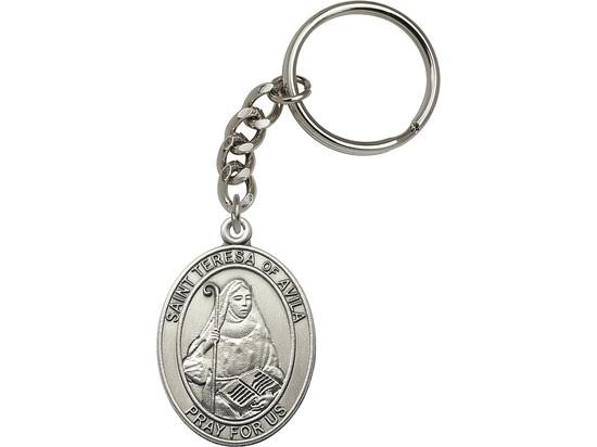 St Teresa of Avila<br>6802SRC - 1 7/8 x 1 1/4<br>KeyChain