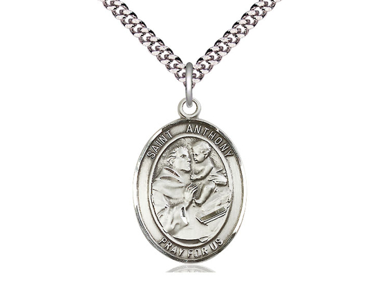 St Anthony of Padua<br>Oval Patron Saint Series<br>Available in 3 Sizes