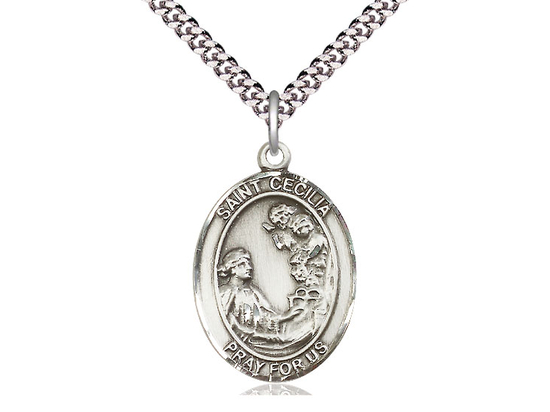 St Cecilia<br>Oval Patron Saint Series<br>Available in 3 Sizes