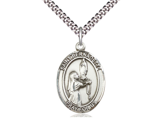 St Bernadette<br>Oval Patron Saint Series<br>Available in 3 Sizes