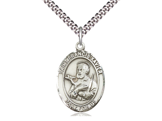 St Francis Xavier<br>Oval Patron Saint Series<br>Available in 3 Sizes