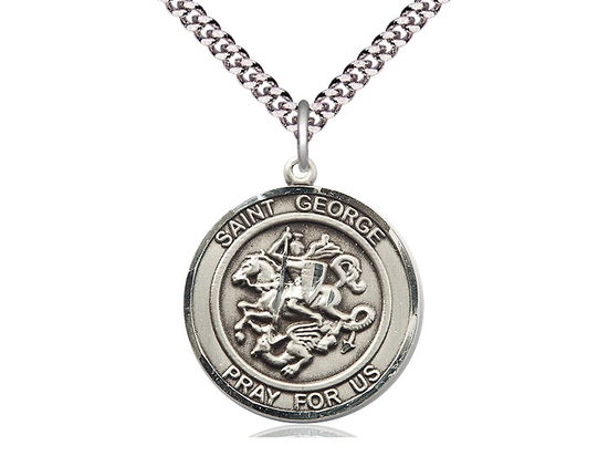 St George<br>Round Patron Saint Series<br>Available in 2 Sizes