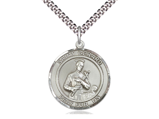 St Gerard<br>Round Patron Saint Series<br>Available in 2 Sizes
