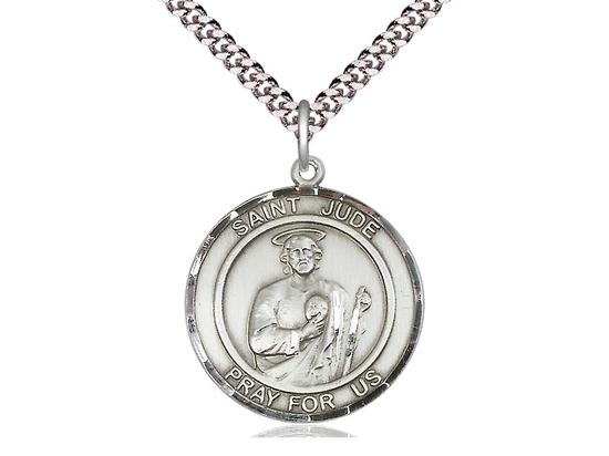 St Jude<br>Round Patron Saint Series<br>Available in 2 Sizes