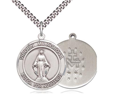 Virgen Milagrosa<br>Round Patron Saint Series