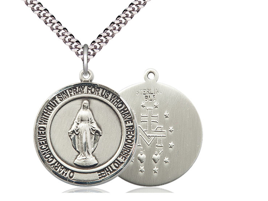 Miraculous<br>Round Patron Saint Series<br>Available in 2 Sizes