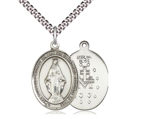 Miraculous<br>Oval Patron Saint Series<br>Available in 3 Sizes