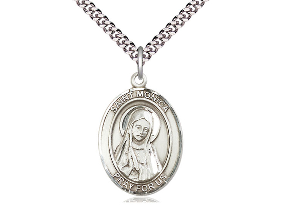 St Monica<br>Oval Patron Saint Series<br>Available in 3 Sizes