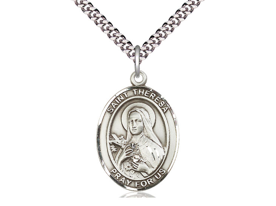 St Theresa<br>Oval Patron Saint Series<br>Available in 3 Sizes