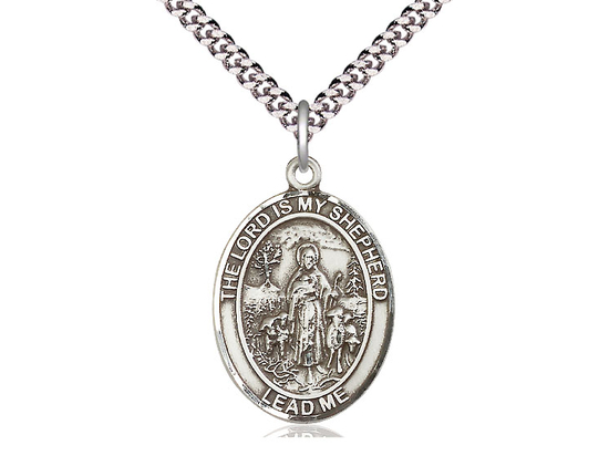 Lord Is My Shepherd<br>Oval Patron Saint Series<br>Available in 2 Sizes