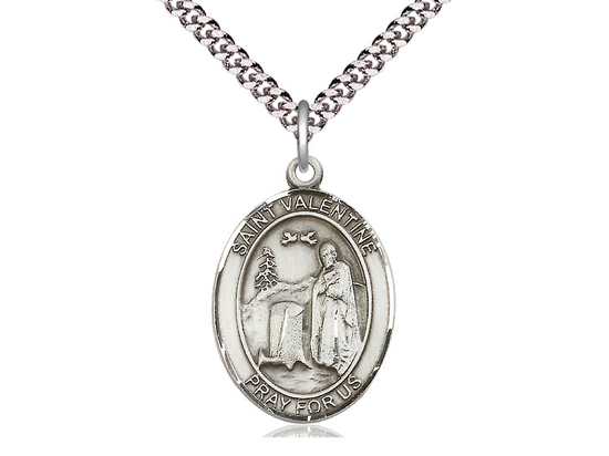 St Valentine of Rome<br>Oval Patron Saint Series<br>Available in 3 Sizes