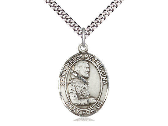 St Pio of Pietrelcina<br>Oval Patron Saint Series<br>Available in 3 Sizes
