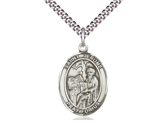 St Jerome<br>Oval Patron Saint Series<br>Available in 3 Sizes