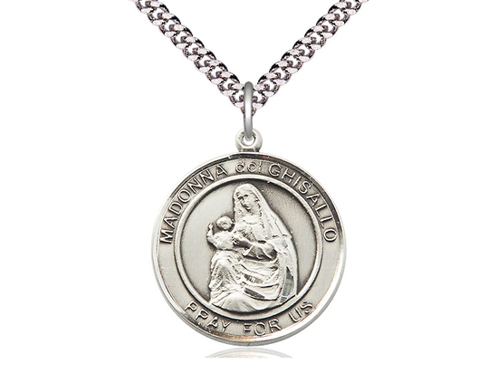 Madonna Del Ghisallo<br>Round Patron Saint Series<br>Available in 2 Sizes