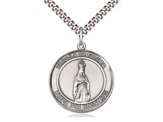 Virgen de Fatima<br>Round Patron Saint Series
