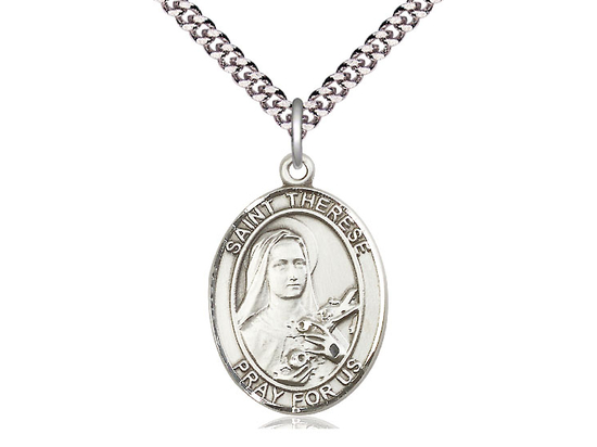 St Therese of Lisieux<br>Oval Patron Saint Series<br>Available in 3 Sizes