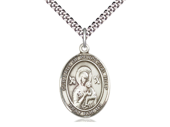 Our Lady of Perpetual Help<br>Oval Patron Saint Series<br>Available in 3 Sizes