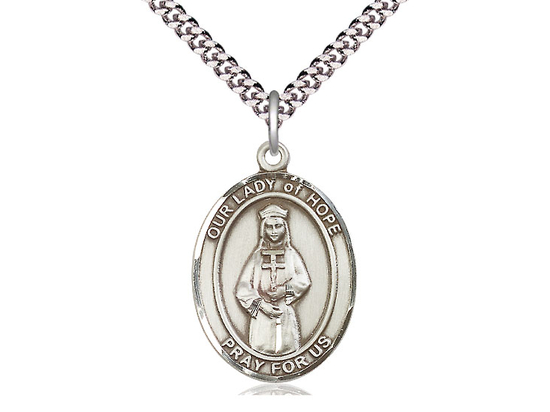 Our Lady of Hope<br>Oval Patron Saint Series<br>Available in 3 Sizes