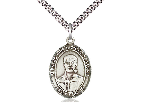 Blessed Pier Giorgio Frassati<br>Oval Patron Saint Series<br>Available in 3 Sizes