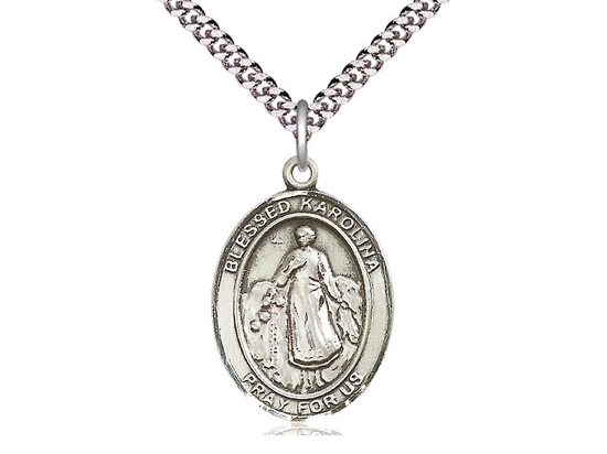 Blessed Karolina Kozkowna<br>Oval Patron Saint Series<br>Available in 3 Sizes