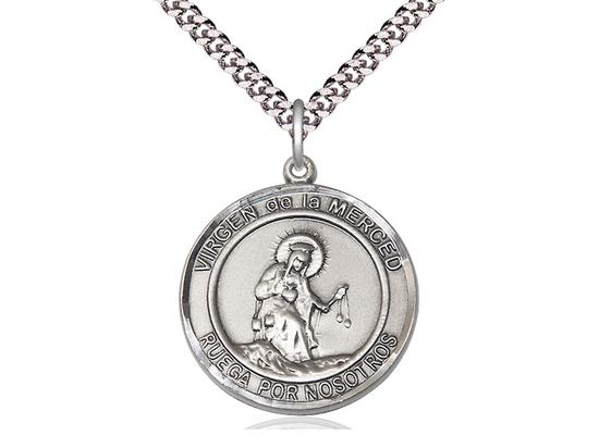 Virgen de la Merce<br>Round Patron Saint Series